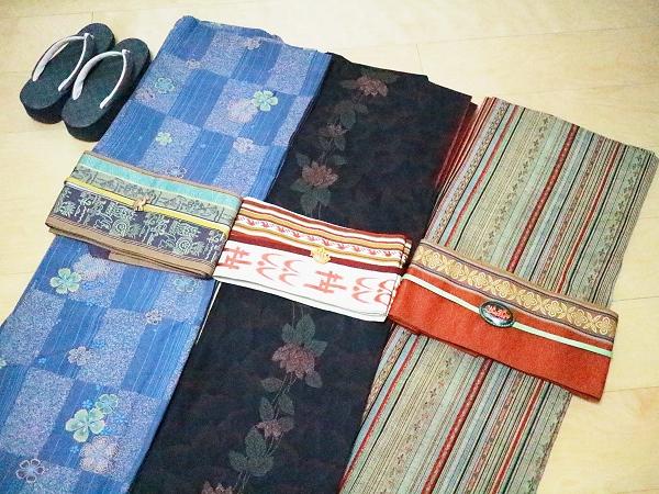 博多帯と着物